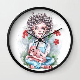 Ringlet Wall Clock