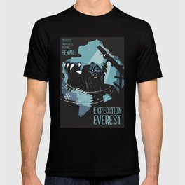 Expedition Everest Attraction Poster T-shirt