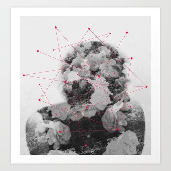 Cosmic Illusions  Art Print