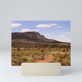 Rawnsley Bluff in the Australian Flinders Ranges Mini Art Print