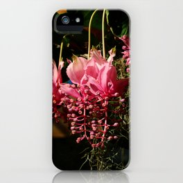 Medinilla Magnifica iPhone Case