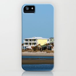 Two Beach Houses iPhone Case