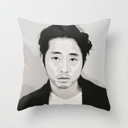 Steven Yeun 2 Throw Pillow