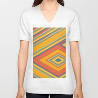 summer V-neck T-shirts featuring summer by contemporary