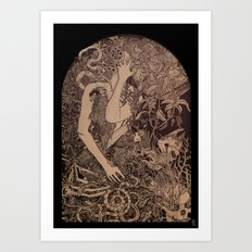 Vessels And Shells Art Print