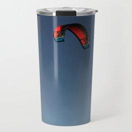 Red Solo Parakite Flies High Travel Mug