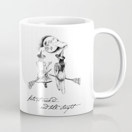 Witches Sitting Crooked Coffee Mug