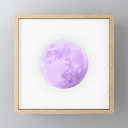 LAVENDER MOON Framed Mini Art Print