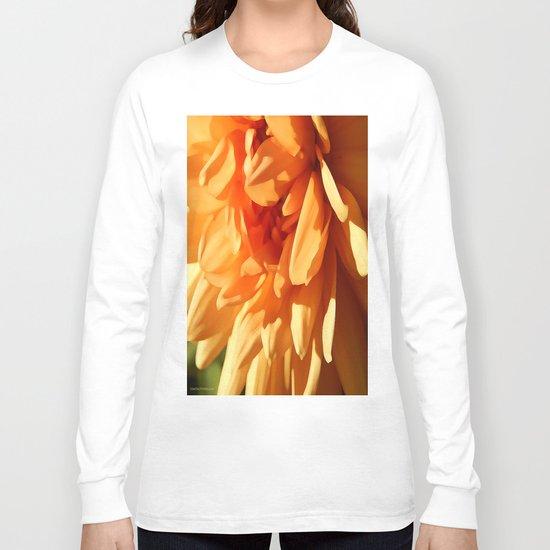 Vermont Autumn Golden Flower Long Sleeve T-shirt