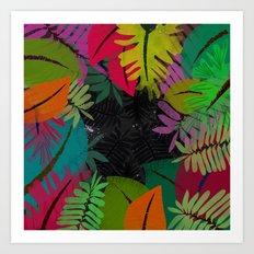 Cosmic Jungle Art Print