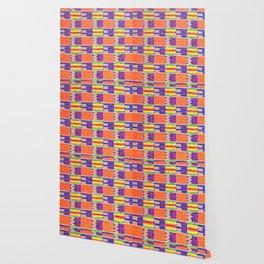 African Influence Textile Wallpaper