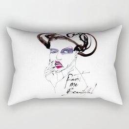 Paint Me Beautiful Rectangular Pillow