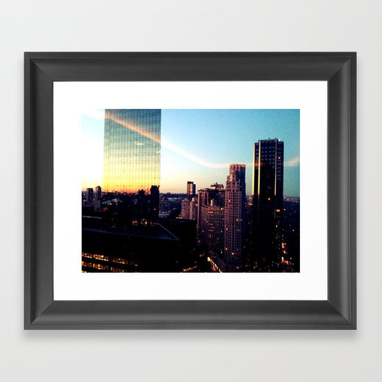Nightwalker Framed Art Print