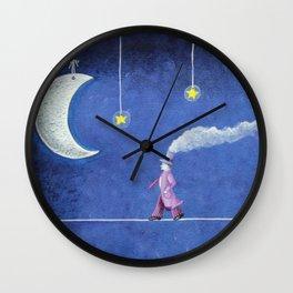 The Sleepwalker Wall Clock