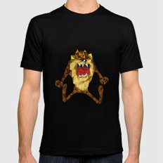 Devil SMALL Black Mens Fitted Tee