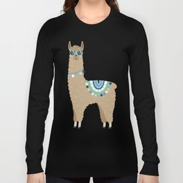 Super Cool Llama Long Sleeve T-shirt