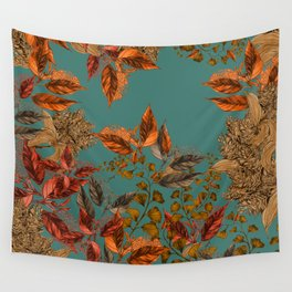 Dark Forest (Copper) Wall Tapestry