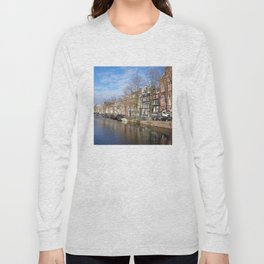 Amsterdam canal 3 Long Sleeve T-shirt