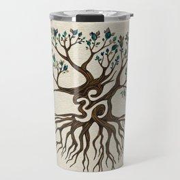 Om Tree  Travel Mug