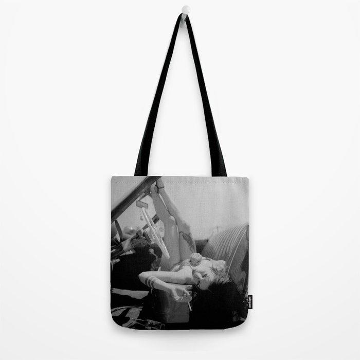 Chola Bad Ass Bitch Smokes Tote Bag