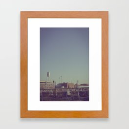 Durham Station Framed Art Print