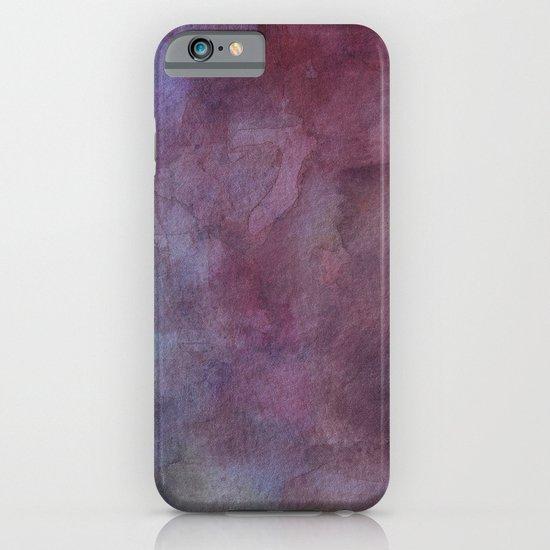 Purple Watercolor Nebula Galaxy Sky iPhone & iPod Case