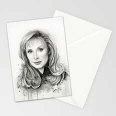 Beverly Crusher Stationery Cards