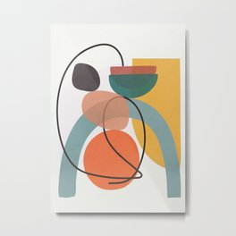 Abstract Modern Art 13 Metal Print
