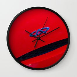 Chery QQ Electric Front Red Wall Clock