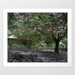 Blossoming Tree Art Print