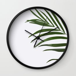 Fern Wall Clock