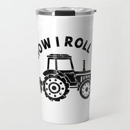 Tractor Farmer Agriculturer Farm Farming Gift Idea Travel Mug