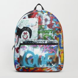 grafitti wall Backpack