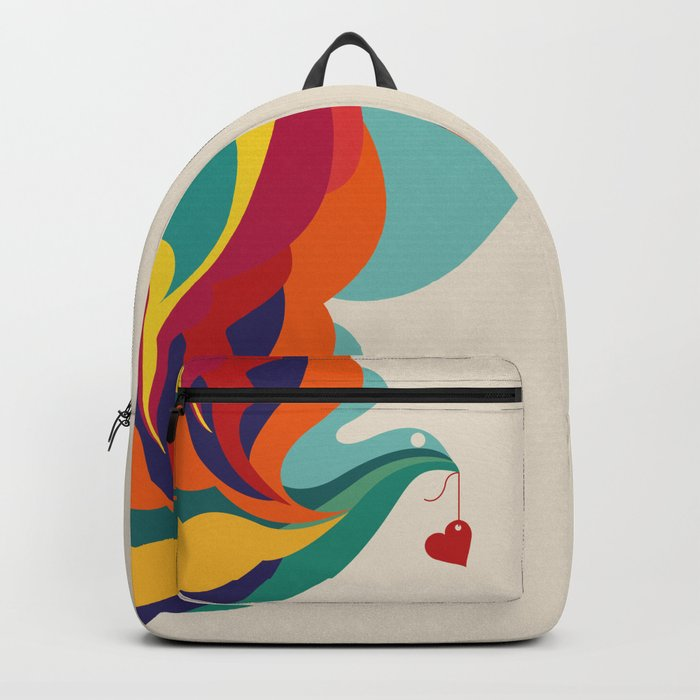 Love Message Backpack