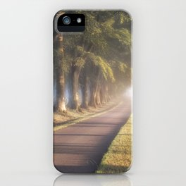 To The Manor iPhone Case