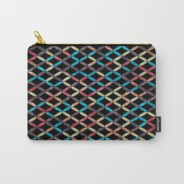 Colorful Geometric Pattern #03 Carry-All Pouch