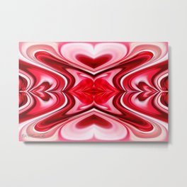 Noel Abstract Metal Print