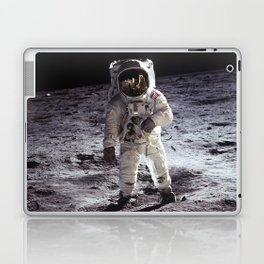 Apollo 11 - Buzz Aldrin On The Moon Laptop & iPad Skin