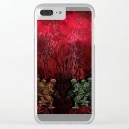 Volatile Clear iPhone Case