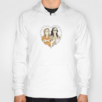 oitnb Hoodies featuring Alex & Piper Forever OITNB by StephDere