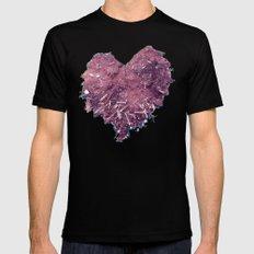 Love is ..... Everywhere. MEDIUM Mens Fitted Tee Black