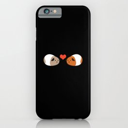 Life's better with guinea pigs - Love iPhone Case