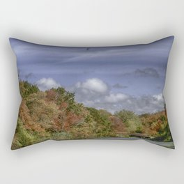 Autumn Tranquility Rectangular Pillow