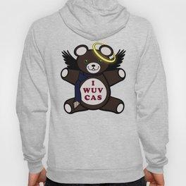 I Wuv Cas Dean Winchester Teddy Bear Hoody