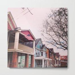 Neighborhood Colors Metal Print