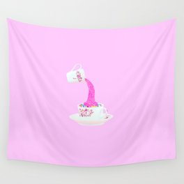 Glitter Tea Party Wall Tapestry