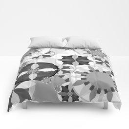 Flowery Flow IV Comforters