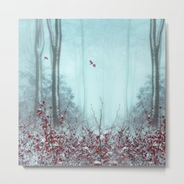 everything and more - winter forest Metal Print