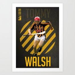 GAA Posters – Tommy Walsh Art Print