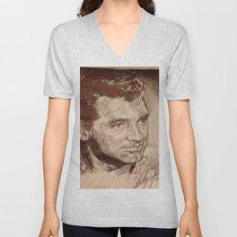 Cary Grant Unisex V-Neck